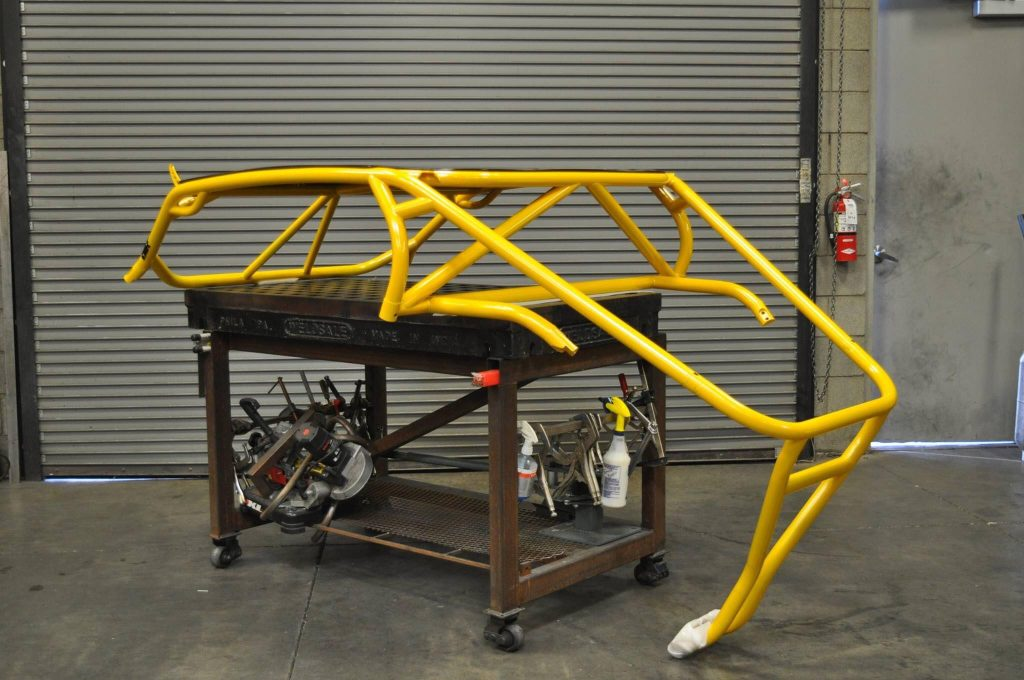 Roll cage fabrication with tube plasma