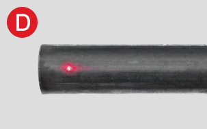 Laser marker for CNC Tube cutting rotary machine