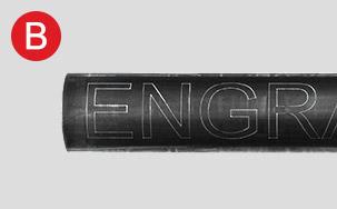 Engraver on CNC Tube Plasma