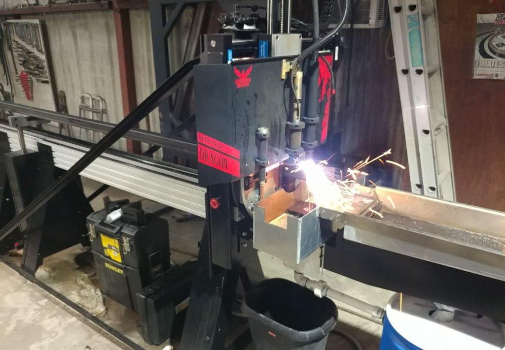 Easy to make handrails with CNC Tube Plasma